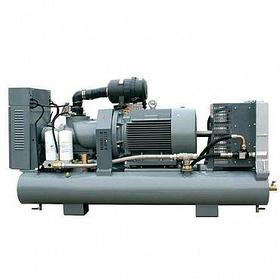 Передвижной винтовой электрический компрессор на ресивере DL-6.0/8GS