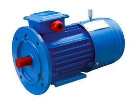 Электродвигатель со встроенным электромагнитным тормозом АИР 100 L4 Е, Е2