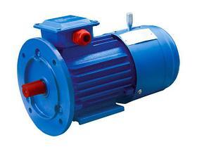 Электродвигатель со встроенным электромагнитным тормозом АИР 100 L6 Е, Е2