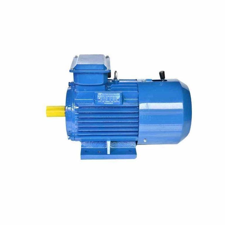 Электродвигатель со встроенным электромагнитным тормозом АИР 225 М6 Е, Е2