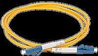 ITK FPC09-LCU-LCU-C1L-50M Оптический коммутационный соединительный шнур (патч-корд), SM, 9/125 (OS2), LC/UPC-LC/UPC, (Simplex), 50м