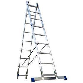 Лестница односекционная алюминиевая Алюмет 5107