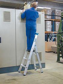 Рычаг привода двух шарниров лестницы-трансформера 293 мм