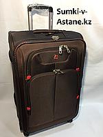 "Средний тканевый дорожный чемодан на 4-х колесах"" Swissgear"". Высота 68 см, ширина 40 см, глубина 27 см., фото 1"