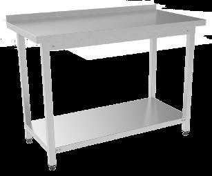 Стол разделочный с бортом СПРБ-120/60