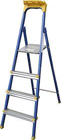 Стремянка (сталь, без полки) 4 ступ, Н=0,9м