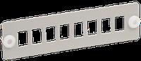 """ITK FOBX-P8-SC Панель для 8-ми оптических адаптеров (SC или LC-Duplex в 19"""" кросс)"""