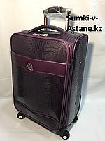 Маленький дорожный чемодан на 4-х колесах.Лак.Высота 57 см, ширина 35 см, глубина 22 см., фото 1