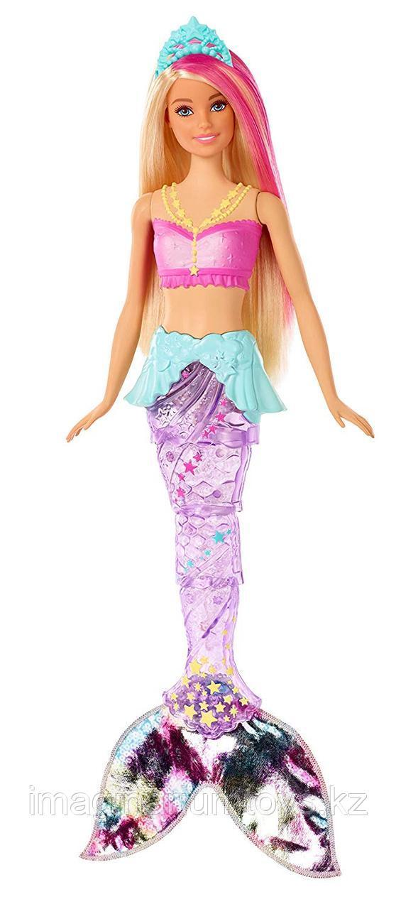 Кукла Barbie Барби Русалка с подвижным хвостом и подсветкой