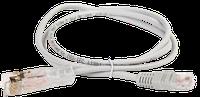 ITK PC01-11045-2P1M Патч-корд 110-RJ45 2 пары кат.5Е 1м серый