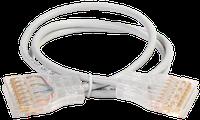 ITK PC01-110-4P3M Патч-корд 110-110 4 пары кат.5Е 3м серый