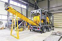 Очередная новинка от ZZBO — мобильный бетонный завод MCP-20 (Mobile Concrete Plant-20)