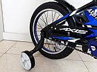 Велосипед AXIS KIDS 16, Алюминиевая рама с дополнительными колесиками и подножкой, фото 3