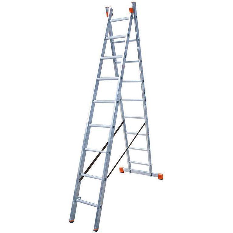 Универсальная лестница STABILO из двух частей, 2 х 9 п