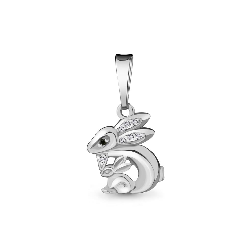 Серебряная подвеска с нанокристаллом синт. AQUAMARINE #701290