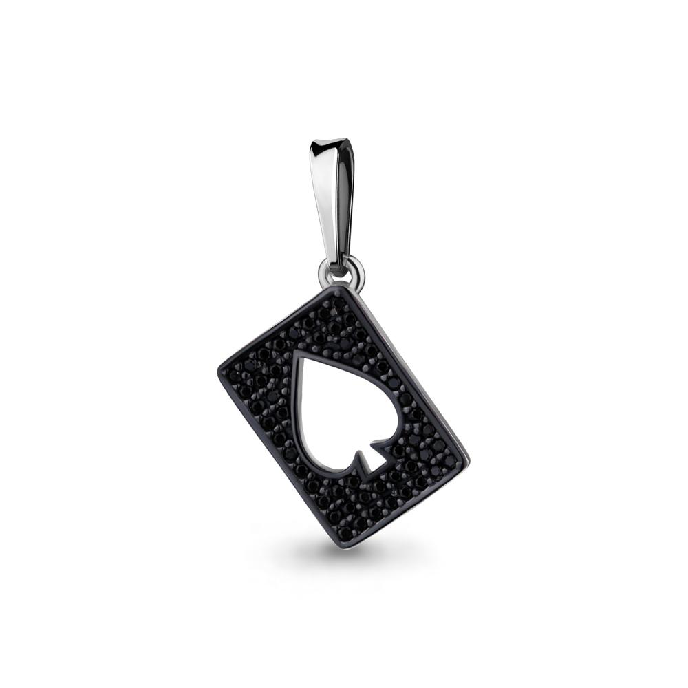 Серебряная подвеска с нанокристаллом синт. AQUAMARINE #701352