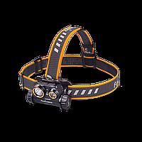 Фонарь налобный светодиодный Fenix HM65R, 1400 Lm, USB зарядка