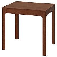 Стол раздвижной ЭКЕДАЛЕН коричневый, 80/120x70 см ИКЕА IKEA