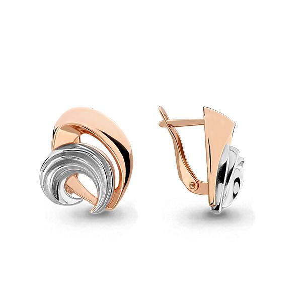Серебряные Серьги-подвески AQUAMARINE (#705826)