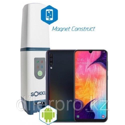 Комплект ГНСС Sokkia GCX3 + Смартфон с ПО Magnet Construct (12 месяцев)