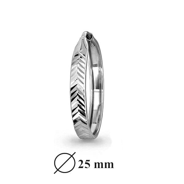 Серебряные серьги-классические AQUAMARINE (#404479)