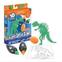 3D Magic Тематический набор для создания объемных моделей - тиранозавр рекс.