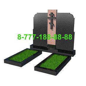 Памятники на могилу двойные ПД 01-03, фото 2