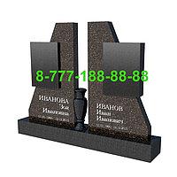 Памятники на могилу двойные ПД 04-06