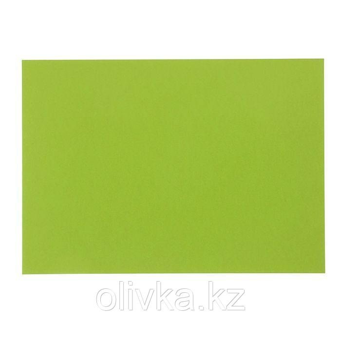 Картон цветной, 420 х 297 мм, Sadipal Sirio, 1 лист, 170 г/м2, лайм