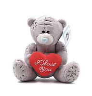 Мягкая игрушка Мишка Тедди с сердцем (18 см)