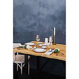 Набор столовый «Барон», 8 предметов: кружка 200 мл, тарелки 26,5/20,5/15,5 см, вилка, 2 ложки, нож, фото 6