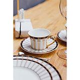 Набор столовый «Барон», 8 предметов: кружка 200 мл, тарелки 26,5/20,5/15,5 см, вилка, 2 ложки, нож, фото 7