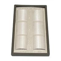 Набор образцов шероховатости поверхности из 6-ти шт, Шлифование периферией ГОСТ 9378-75 год выпуска 1988