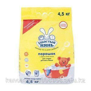 Ушастый нянь Стиральный порошок для машинной стирки Ушастый нянь, для детского белья, 4,5 кг.