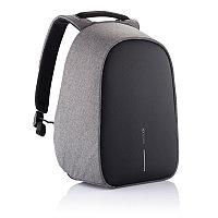 Антикражный рюкзак Bobby Hero Regular, серый, серый; черный, Длина 29 см., ширина 16 см., высота 45 см.,