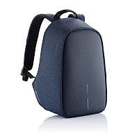 Антикражный рюкзак Bobby Hero Small, синий, темно-синий, Длина 26,5 см., ширина 14 см., высота 38 см.,