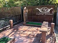 Мусульманские мемориальные комплексы из гранита