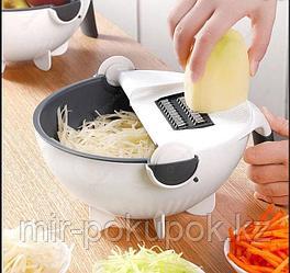 Многофункциональный ручной слайсер миска-дуршлаг