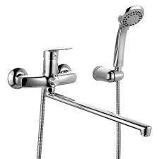 Смеситель IDDIS Zodiac для ванны с длинным изливом