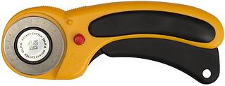Нож OLFA с круговым лезвием, с пистолетной рукояткой, фиксатор, 45мм OL-RTY-2/DX