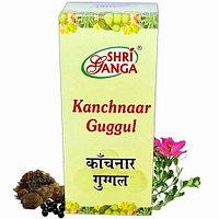 Канчнар гуггул 100гр 200таб (Kanchnaar Guggul) Shri Ganga