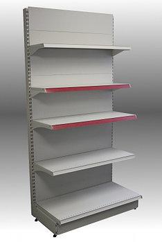 Стеллаж металлический пристенный секция 2200*500/300
