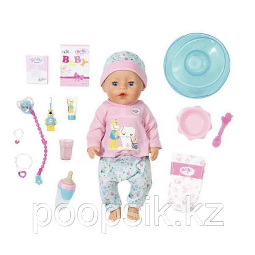 Baby born кукла интерактивная Чистим зубки, 43 см Zapf Creation
