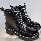 Ботинки лаковые, фото 2