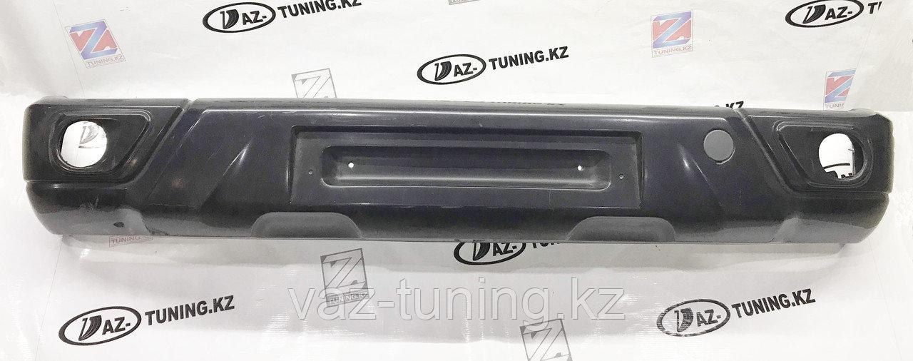 Бампер передний Урбан Style под ПТФ для Lada Нива 4х4 (2121,2131)