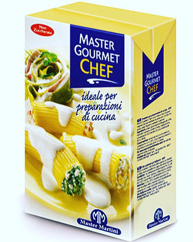 Сливки Master Gourmet Chef  тм Master Martini