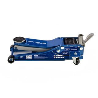 Домкрат гидравлический подкатной 3 т, быстрый подъем, Low profile quick lift, 75-505 мм, профессиональный STEL