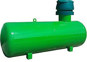Ёмкость для сжиженного газа (Газгольдер), с патрубками 10 м.куб.