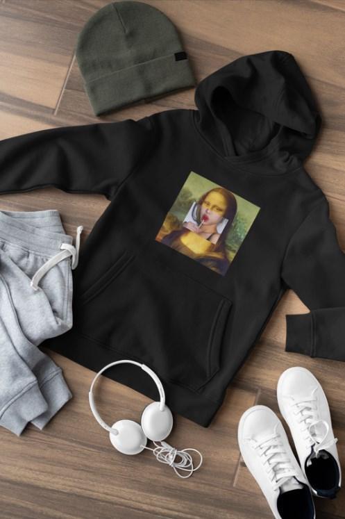 Худи Mona Lisa