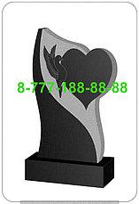 Памятники в форме сердца СР 11-15, фото 2
